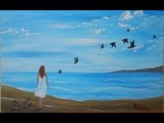 Freedom - Acrylic Painting on Canvas for Beginners