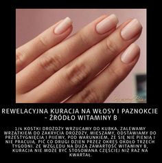 Stylowi.pl - Odkrywaj, kolekcjonuj, inspiruj Home Spa, Good Advice, Hair Hacks, Natural Remedies, Beauty Hacks, Hair Beauty, Skin Care, Nails, Hair Styles