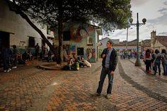 https://flic.kr/p/E8RZKG | Bogota, Colombia | Scene in La Candelaria, Bogota, Colombia