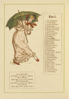 April. From New York Public Library Digital Collections.
