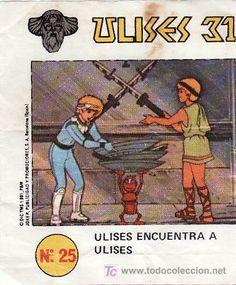 ULISES 31-- Nº 25 (Papel - Cromos y Álbumes - Cromos Antiguos). Era una serie de televisión.