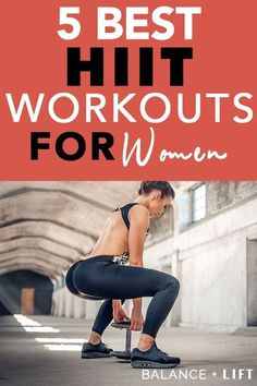 If you have some stubborn fat that won't go away then give these 5 HIIT workouts for women a try. They'll get your heart pumping and increase your fat burning abilities!