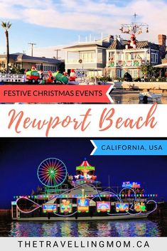 California dreaming for the holidays? Get into the spirit of the season with our guide of festive things to do in Newport Beach at Christmas. Christmas Events, Christmas Travel, Holiday Travel, Free Travel, Travel Usa, Travel Tips, Newport Beach California, California Dreamin', Stuff To Do