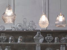 Direktlicht Pendelleuchte aus Glas CERAUNAVOLTA - Karman