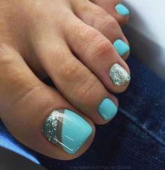 Gel Toe Nails, Feet Nails, Toe Nail Art, Gel Toes, Pink Toe Nails, Pastel Nails, Gold Nails, Black Nails, White Nails