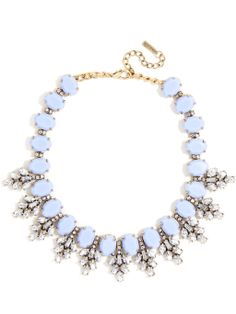 Crystal Conifer Collar Necklace   BaubleBar