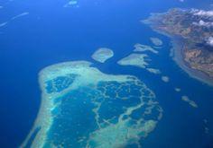 Viti Levu, la plus grande île des Fidji.