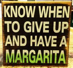 11x11 Margarita Sign by SleepysCustomSigns on Etsy, $19.95