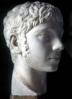 Elagabalus, the 25th Emperor of Rome. He was made emperor through the machinations of his grandmother, but was unsuited for the post, coming to it at age 14. He was more of an eastern king (having grown up in Syria) than western. Hated by the Romans.
