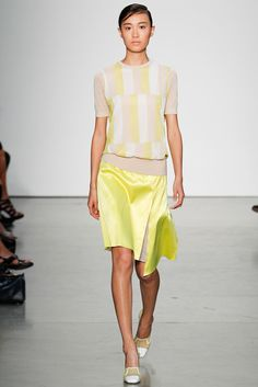 Reed Krakoff Spring 2014 Ready-to-Wear Fashion Show - Shu Pei Qin
