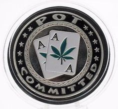 Pot Committed Challenge Coin