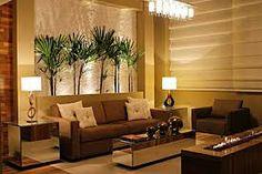 sala decorada com sofa marrom - Pesquisa Google