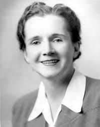 Rachel Carson: Marine biologist and conservationist. Founders of the contemporary environmental movement.