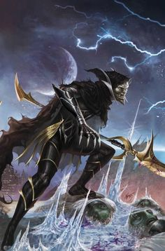 Corvus Glaive was a member of Thanos' Black Order, and the right-hand of the Mad Titan. One of his tasks was to force the planets harassed by Thanos to give his master a tribute. When Thanos targeted Earth as the next planet he would raze, Corvus Glaive arrived to the Jean Grey School for Higher Learning, but left after realising that Thanos' son was not there. When Thane, Thanos' son, was found in Orollan, the Black Order moved to that location in order for Thanos to murder his son…