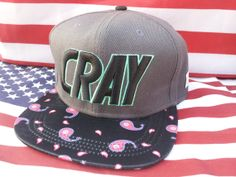 Cayler & Sons CRAY snapback hat by snapbackchampUSA on Etsy, $29.99