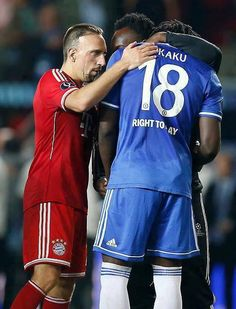 Ribery and Lukaku