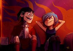 Ed, Edd n' Eddy - Edd/Double D & Marie - Fanart (Repair by Blookarot on DeviantArt)