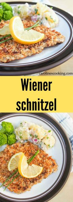 Try this authentic Wiener schnitzel recipe - it's practically a national dish of Austria and for good reason - it's easy to make, child friendly & delicious