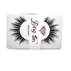 2Pcs 3D Mink Full Strip False Eyelash Long Individual Eyelashes Mink Lashes Extension Makeup Fake Eye Lashes Tools