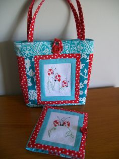 i made this cute Cinderberry set for a swap i was in.