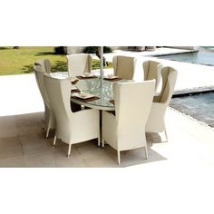 Our range of luxury dining room furniture & designer dining room sets will enhance any dining experience. Luxury Dining Room, Dining Room Sets, Dining Room Design, Dining Room Furniture, Luxury Garden Furniture, Outdoor Furniture Sets, Outdoor Decor, Skyline Design, Outdoor Living