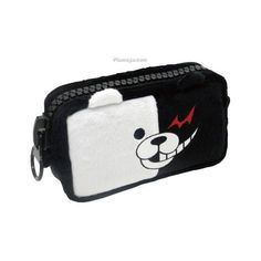 Super Danganronpa 2 Mega Zipper Pouch Monokuma ($5.57) ❤ liked on Polyvore featuring bags, handbags and clutches