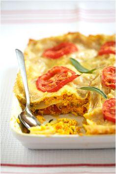 Vegetarian Lasagna #vegetarian #food