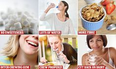 How to get a flat stomach in a DAY and 10 tips and tricks to beat the bloat | Daily Mail Online