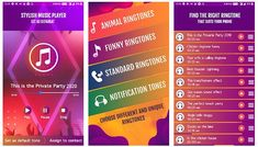 #FreeRingtones2020 is a wonderful app for downloading ringtones for free. It boasts a wide variety of ringtones such as: #standardringtones, #emotionalringtones, #melodyringtones, #babyringtones, #natureringtones, #animalringtones, and several #mobileringtones. Users can set these ringtones as #contacttones, #SMStones, #alarmtones and #notificationtones. Phone Ringtones, Mobile Ringtones, Free Ringtones, Popular Ringtones, Free Tone, Are You Bored, Htc One, Samsung Galaxy