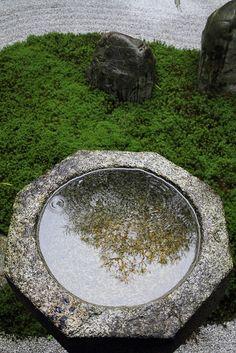 circular stone pool
