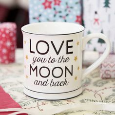 Love You To The Mug Moon & Back | Mother's Day Gifts | Sass & Belle