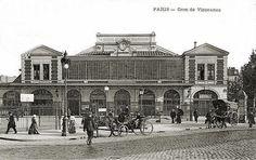 Paris Gare de la Bastille 1857