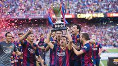 League celebrations #FCBarcelona #Liga #CampionsFCB #FansFCB