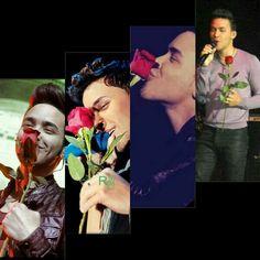 Prince Royce con sus rosas