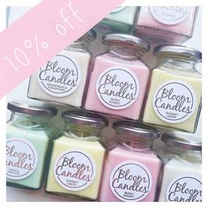 Sunday's are always fun days at Penny Rose HQ  don't forget we still have 10% off today to celebrate the launch of Bloom Candles on the website just use the code 'BLOOM' at the checkout
