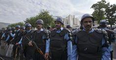 MARYAM NAWAZ KI PESHI PAR SECURITY HIGH ALERT - Aham Khabrain
