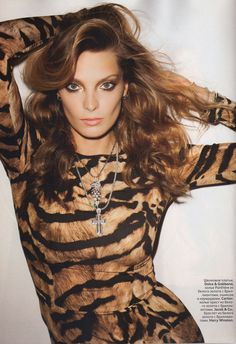 Vogue Russia October 2011 : Daria Werbowy by Terry Richardson