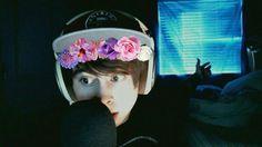 LeafyIsHere flower crown *^*