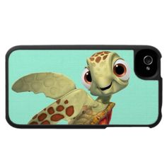 Squirt 2 iPhone 4 cases by disney