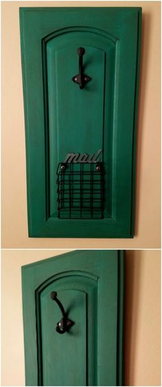 25 DIY Projects Made From Old Cabinet Doors – It's Time To Repurpose! Upcycled Cabinet Door Mail Holder p Upcycled Cabinet Door Mail Holder 25 DIY Projects Made From Old Cabinet Doors It s Time To Repurpose Upcycled Cabinet Door Mail Holder p Cabinet Door Crafts, Cabinet Door Makeover, Diy Cabinet Doors, Cabinet Ideas, White Cabinet, Cabinet Styles, Upcycled Cabinet, Repurposed Doors, Repurposed Furniture