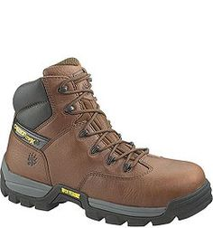W02292 Wolverine Men's Guardian CarbonMAX Safety Boots - Brown