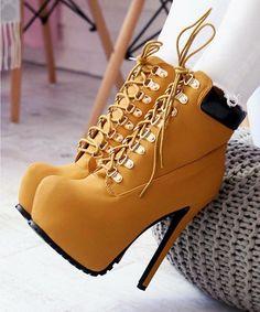 Trendy Women's High Heels : Hot or Not Women's Fashion High Heels : Hot or Not Hot High Heels, High Heel Boots, Womens High Heels, Shoe Boots, Oxford Shoes Heels, Boot Heels, Heeled Sandals, Fancy Shoes, Pretty Shoes