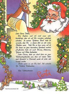 Der Brief vom Weihnachtsmann