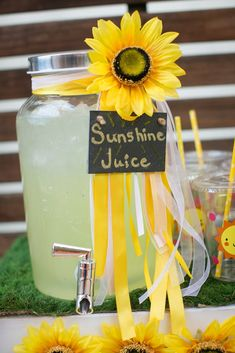 """""""You Are My Sunshine"""" Kids Birthday Party - Sunflower Party - Girl First Birthday, First Birthday Parties, First Birthdays, Birthday Celebration, Birthday Ideas, Birthday Photos, Princess Birthday, 18th Birthday Party Ideas Decoration, 18th Birthday Party Themes"""