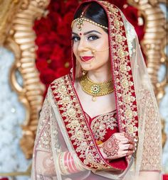 Image may contain: 1 person Beautiful Hijab, Beautiful Asian Women, Beautiful Bride, Lehenga Saree, Bridal Lehenga, Saree Blouse, Sarees, Indian Culture And Tradition, Bridal Photography