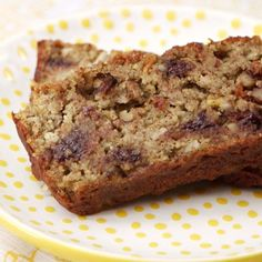 This avocado chocolate chip banana bread is perfect for breakfast, a snack, or dessert. Plus, it's full of superfoods! | Health.com