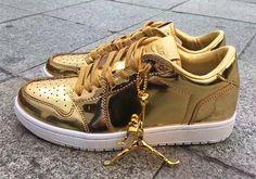 73f93be5f8f1  sneakers  news Air Jordan 1 Low Pinnacle Releasing In Gold Jordan 1 Low