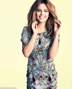 Cheryl Cole in Dolce & Gabbana for UK Marie Claire May 2012.