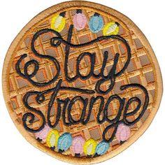 Image of Stranger Things Fan Art patch by la barbuda