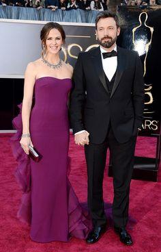 Red Carpet Oscares 2013, Jennifer Garner, Ben Affleck, Gucci